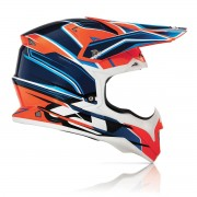 Casco Acerbis Impact Orange Blue