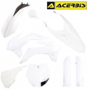 Full Kit de Plásticos Acerbis KTM 85 SX 2013-2016 Blanco