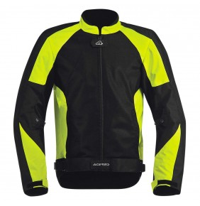 Cazadora Acerbis Ramsey My Vented Jacket Black Yellow