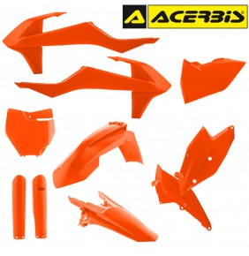 Full Kit de Plásticos Acerbis KTM SX / SXF 2016 Naranja