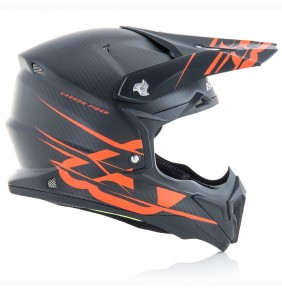 Casco Acerbis Impact Carbon 3.0 Orange Fluo 2018