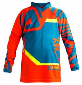 Camiseta Niño Acerbis Fitcross Mx Blue Orange