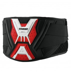 Faja Thor Force Belt Black / White / Red
