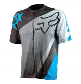 Maillot FOX Livewire Descent Blue