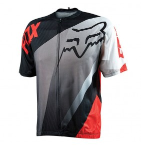 Maillot FOX Livewire Descent Red