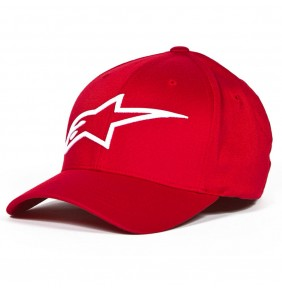 Gorra Alpinestars Logoastar Red / White