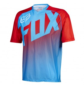 Camiseta Fox Flow Cyan