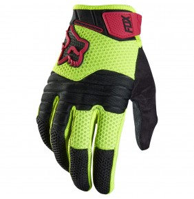 Guantes FOX Sidewinder Yellow Fluo
