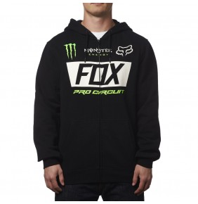 Sudadera Fox Monster Paddock Zip Limited Edition