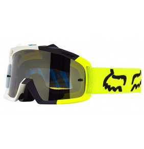 Gafas Niño FOX Air Space Creo White Yellow Fluo 2017