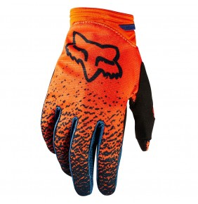 Guantes Chica FOX Dirtpaw Grey Orange 2018