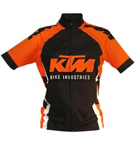 Maillot KTM Factory Line Black / Orange