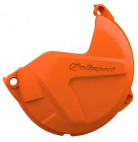 Protector Tapa Discos Embrague KTM SX 125/200 09-15 EXC 125/200 09-16 Naranja