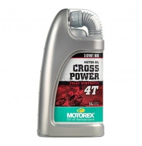 Aceite Motorex Cross Power 4T 10W/60