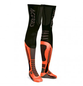 Calcetines Acerbis MX Socks X-Leg Black Orange Fluo