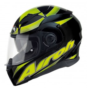Casco Airoh Movement Shot Yellow Gloss