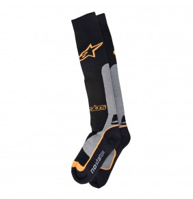 Calcetines Alpinestars Pro Coolmax Black Gray Orange