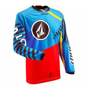 Camiseta Niño Thor Volcom Youth Phase Blue Red Yellow