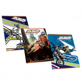 Cuadernos Axo A4. Set tres piezas