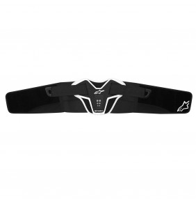 Faja Alpinestars Saturn Kidney Belt Black White