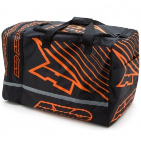 Bolsa Axo Weekender Gear Bag Black Orange