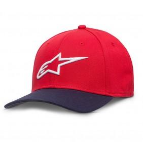 Gorra Alpinestars Ageless Curve Flexfit Red / Nav