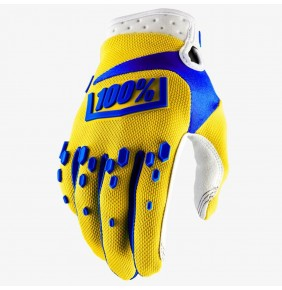 Guantes 100% Airmatic Yellow
