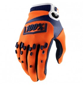 Guantes 100% Airmatic Orange / Navy