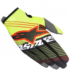 Guantes Alpinestars Radar Tracker Yellow Fluo Black 2017