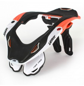 Collarín Adulto Leatt GPX 5.5 Orange White Black