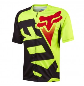 Maillot Fox Livewire Fluo Yellow