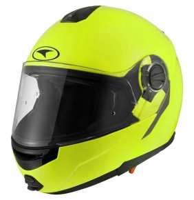 Casco Axo Modus Yellow Fluo