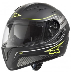 Casco Axo Blade Black / Yellow Fluo