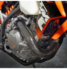 Protector Colector Carbono Racing KTM Husaberg Husqvarna