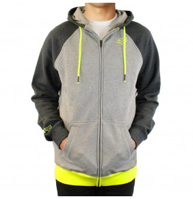 Sudadera Fox Fuze Fleece Heather Graphite
