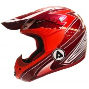Casco Acerbis Impact Evolution Red