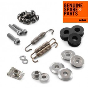Kit Hardware Escape KTM 250/350/450/500/530 EXC-F - KTM 250/350/450 SX-F