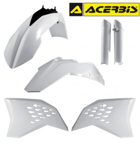 Full Kit de Plásticos Acerbis KTM EXC 2008-2011 Blanco