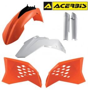 Full Kit de Plásticos Acerbis KTM EXC 2008-2011 Réplica