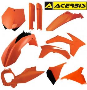 Full Kit de Plásticos Acerbis KTM SX 125/144/150 2012 - KTM SXF 2011-2012 Naranja