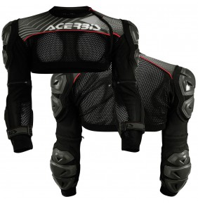 Chaqueta Acerbis Cosmo 2.0 Grey / Red