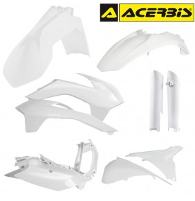 Full Kit de Plásticos Acerbis KTM EXC 2014-2015 Blanco