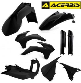 Full Kit de Plásticos Acerbis KTM EXC 2014-2015 Negro