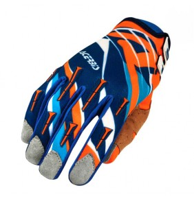 Guantes Acerbis MX X2 Orange / Blue