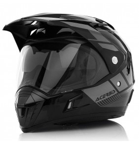 Casco Acerbis Active Graffix Black Grey