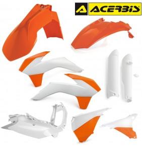 Full Kit de Plásticos Acerbis KTM EXC 2016 Réplica