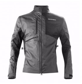 Chaqueta Acerbis Enduro One Black / Grey