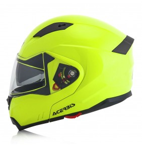 Casco Modular Acerbis BOX G-348 Yellow Fluo 2017
