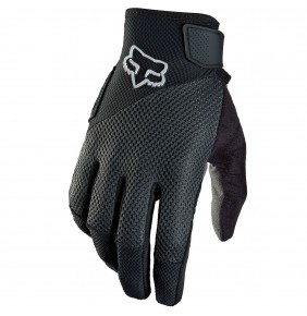 Guantes Fox Reflex Gel Black Logo White