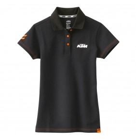 Polo Chica KTM Girls Racing Black
